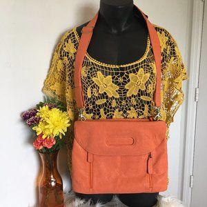 Kelly Moore Orange Posey Camera Bag
